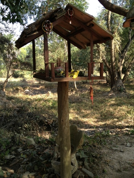 Spirit House at the Killing Fields